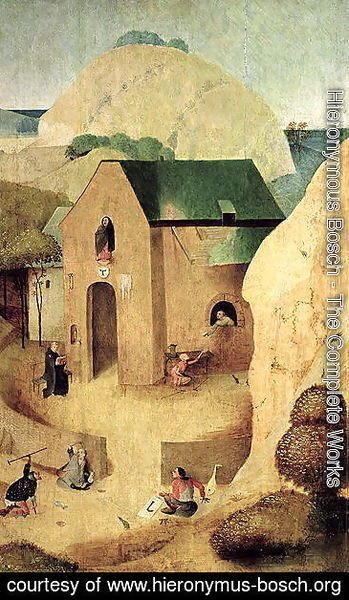 Hieronymous Bosch - An Antonian Priory