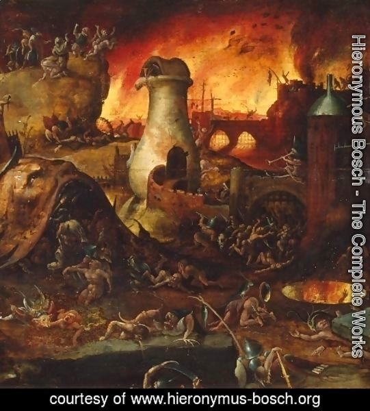 Hieronymous Bosch - Hell 2