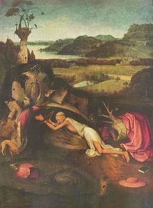 Hieronymous Bosch - St. Jerome Praying