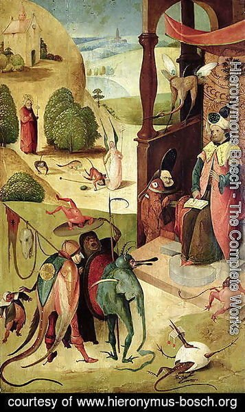 Hieronymous Bosch - St.James and the Magician