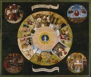 Hieronymous Bosch - Tabletop of the Seven Deadly Sins and the Four Last Things (1)