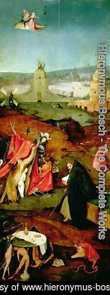 Hieronymous Bosch - Temptation of St. Anthony (3)