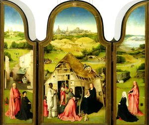 Hieronymous Bosch - The Adoration of the Magi, 1510