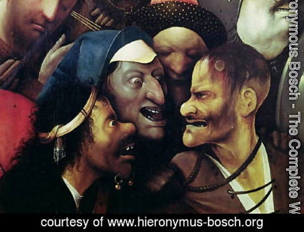 Hieronymous Bosch - The Carrying of the Cross (detail)