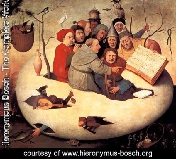 Hieronymous Bosch - The Concert in the Egg