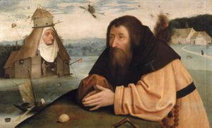 Hieronymous Bosch - The Temptation of St. Anthony