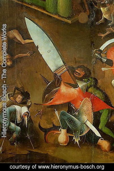 Hieronymous Bosch - The Last Judgement (2)