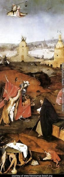Temptation of St. Anthony, right wing of the triptych