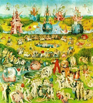 Hieronymous Bosch - Ecclesia's paradise