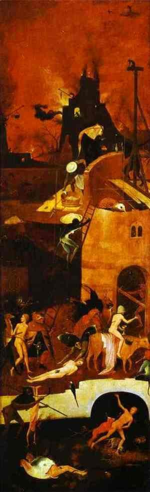 Hieronymous Bosch - Hell 3