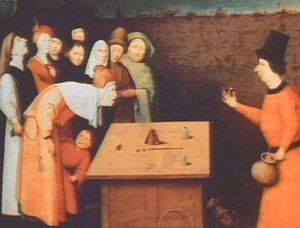 Hieronymous Bosch - The Magician