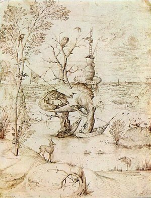 Hieronymous Bosch - The Man-Tree