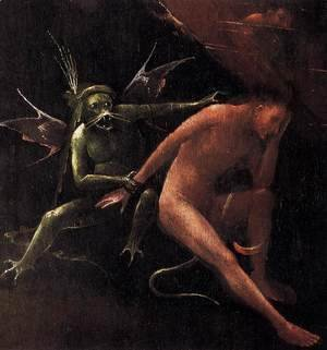 Hieronymous Bosch - Hell (detail)