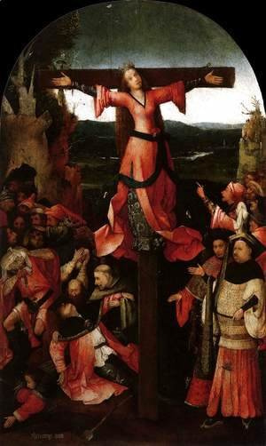 Hieronymous Bosch - Triptych of the Martyrdom of St Liberata (central panel)