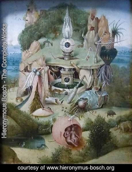 Hieronymous Bosch - Paradise or Allegory of Vanity