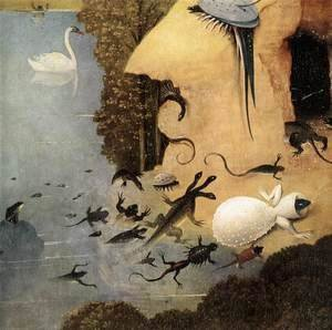 Triptych of Garden of Earthly Delights (detail)