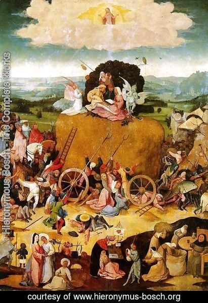 Hieronymous Bosch - Triptych of Haywain (central panel) 2