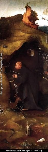 Hieronymous Bosch - Hermit Saints Triptych (right panel) 2