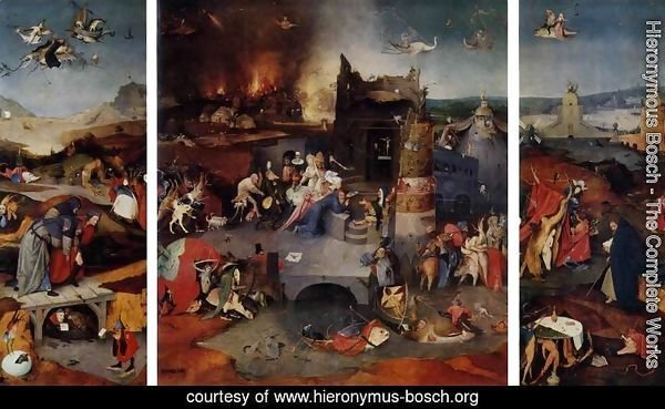 Triptych of Temptation of St Anthony 2
