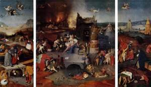 Hieronymous Bosch - Triptych of Temptation of St Anthony 2