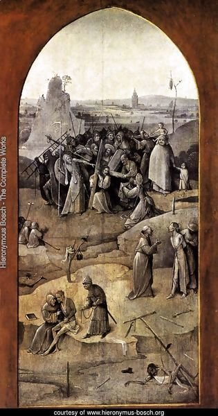 Triptych of Temptation of St Anthony (outer right wing) 2