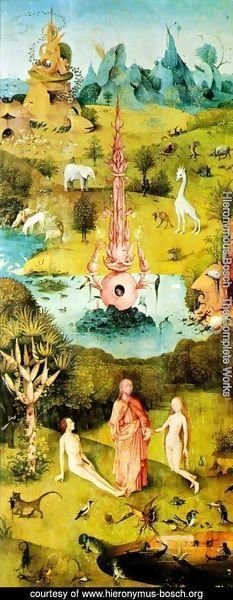 Hieronymous Bosch - The Garden of Earthly Delights panel 1