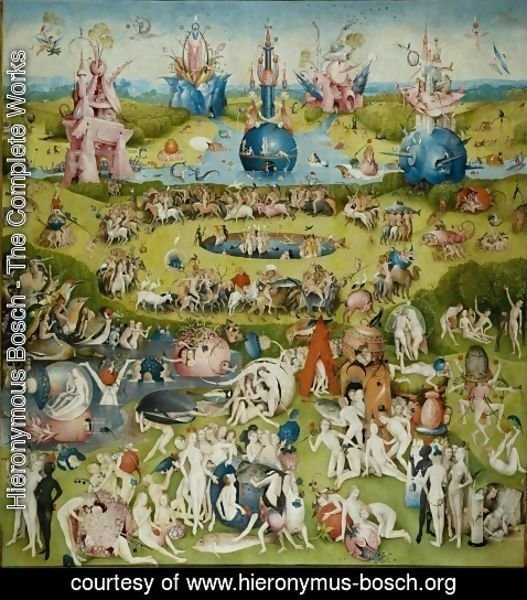 Hieronymous Bosch - The Garden of Earthly Delights panel 2