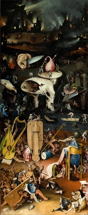Hieronymous Bosch - The Garden of Earthly Delights panel 3