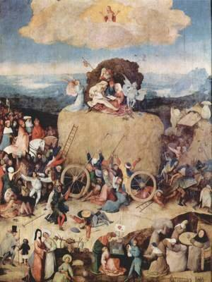 Hieronymous Bosch - The Hay Wagon