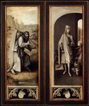 Hieronymous Bosch - Last Judgement Triptych (exterior view)