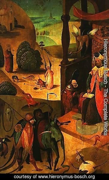 Hieronymous Bosch - St. Jacob and the magician