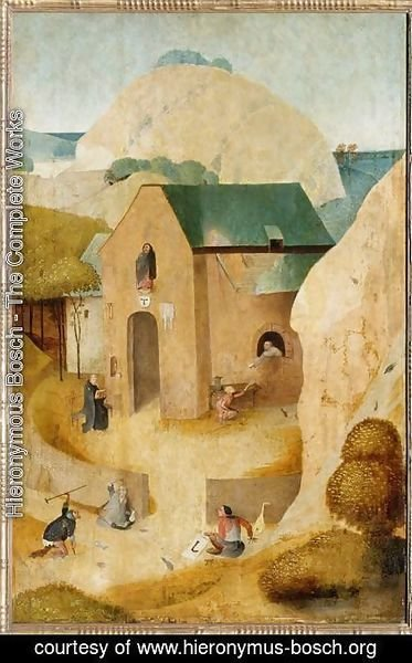 Hieronymous Bosch - St. James and the Magician Hermogenes