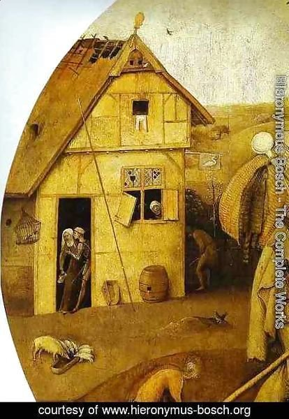 Hieronymous Bosch - The House of Ill Fame