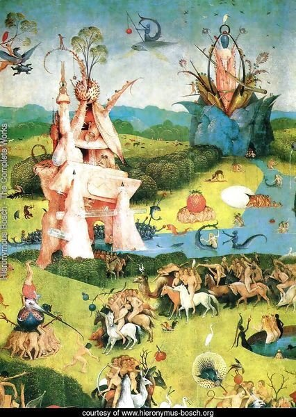 The Garden of Earthly Delights (detail) 2