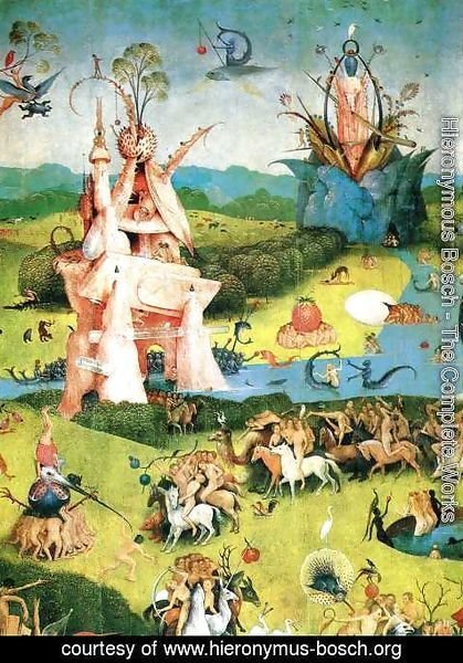 Hieronymous Bosch   The Garden Of Earthly Delights (detail) 2