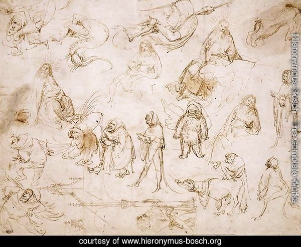Sketches for a Temptation of St. Anthony
