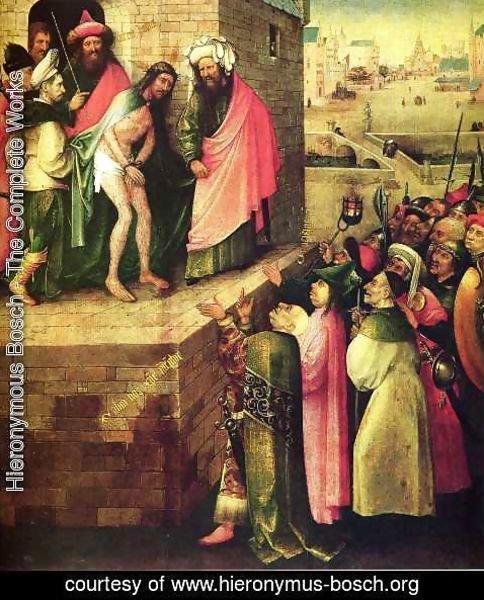 Hieronymous Bosch - This is a human(Ecce Homo)