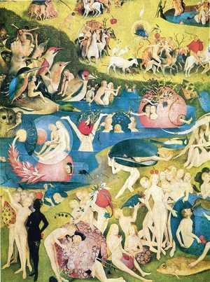Hieronymous Bosch - The Garden of Earthly Delights (detail) 3