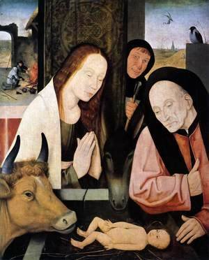 Hieronymous Bosch - Adoration of the Child