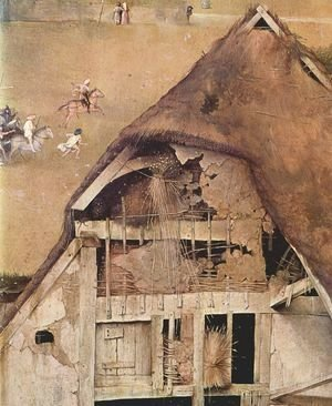 Hieronymous Bosch - Adoration of the Magi (detail 3) c. 1510