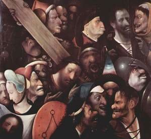 Hieronymous Bosch - Christ Carrying the Cross 1515-16