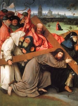 Hieronymous Bosch - Christ Carrying the Cross