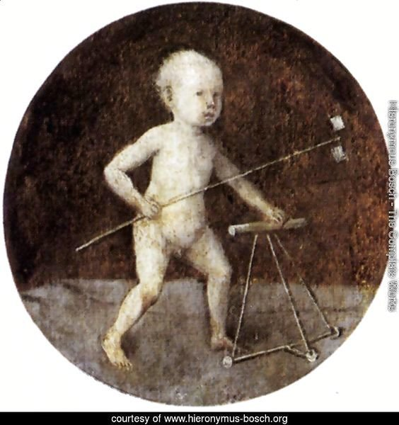 Christ Child with a Walking Frame 1480s