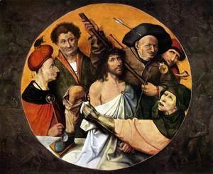Hieronymous Bosch - Christ Crowned with Thorns