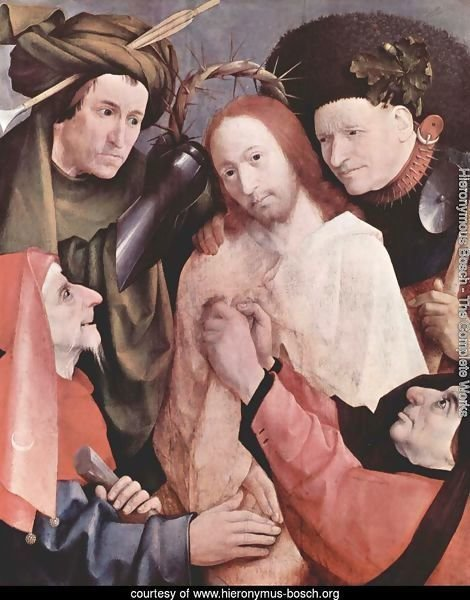 Christ Mocked (Crowning with Thorns) 1495-1500