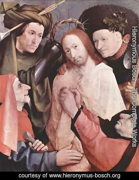 Hieronymous Bosch - Christ Mocked (Crowning with Thorns) 1495-1500