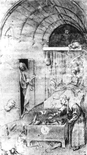 Hieronymous Bosch - Death and the Miser