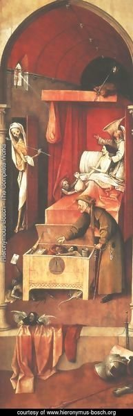 Hieronymous Bosch - Death and the Miser c. 1490