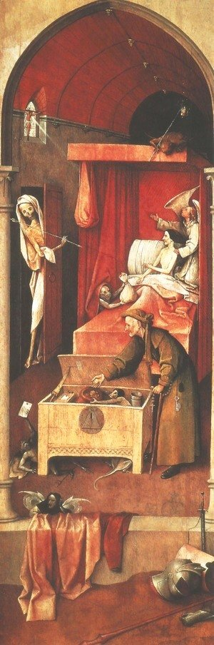 Death and the Miser c. 1490