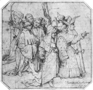 Hieronymous Bosch - Group of Male Figures